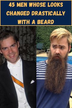 Beards are everything right now. It may be hot in the summer, but that doesn't mean you can't sport a neatly trimmed beard with your swimming trunks. These men prove that beards make all the difference. Fire Nails, Beard Trimming, Good Jokes, Men Looks, Kids Decor, Bearded Men, Nice Tops, Food Hacks, Wonders Of The World