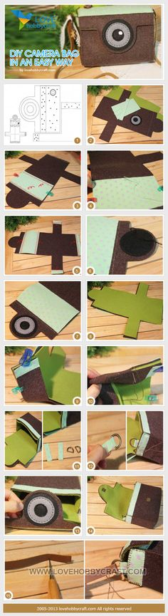 diy by clairehobby Cute Crafts, Felt Crafts, Diy And Crafts, Paper Crafts, Diy Craft Projects, Craft Tutorials, Sewing Projects, Sewing Art, Sewing Crafts