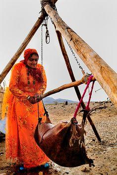 Making Yoghurt,Khamse tribe,Iran | by Daniel Sin