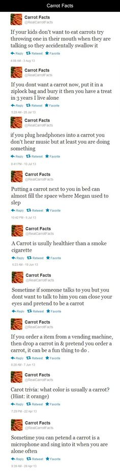 carrot facts!
