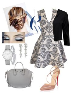 """""""All business"""" by lianafayne on Polyvore featuring Joana Almagro, Boohoo, Christian Louboutin, Givenchy, Harry Winston and Topshop"""