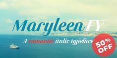 Font dňa – Maryleen FY (14,37€) - http://detepe.sk/font-dna-maryleen-fy-1437e/
