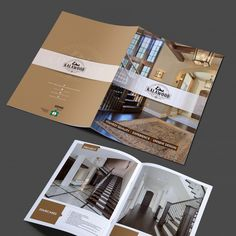 Brochure for Woodworking Company by Priti▼