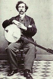 Gr8 minstrel banjo...but phenomenal pants!!!