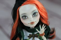 Monster High doll repainted by Hecho, Pandolla Box studio