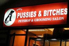 Lmao is it bad that this totally made me LOL out loud? *Actual salon name*