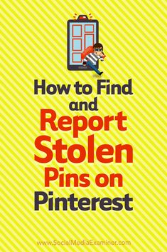 How to find and report stolen Pins Social Media Trends, Social Media Plattformen, Social Media Marketing, Digital Marketing, Marketing Strategies, Marketing Tools, Affiliate Marketing, Business Tips, Online Business