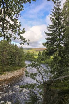 Streaming river in Scotland by Patricia Hofmeester on Creative Market