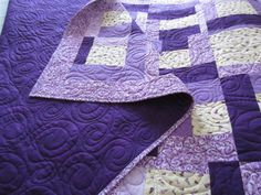 2 purple quilts | Quilts, mostly modern. | Pinterest | Purple ... : quilt purple - Adamdwight.com