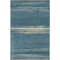 Rizzy Home Mojave MV3157 Rug - (8 Foot x 10 Foot), Blue