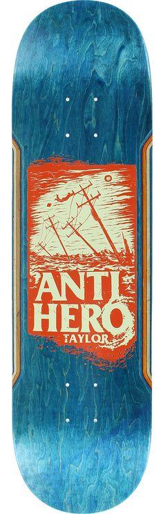 Anti Hero Skateboards, Cool Skateboards, Skateboard Design, Skateboard Decks, Snow Board, Skate Art, Logo Sticker, Skateboarding, Snowboarding