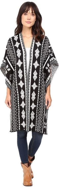 Rock and Roll Cowgirl Poncho 46-8458
