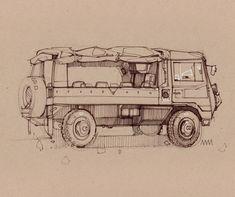 Sketches 08 - Weekend Sketches — Minimally Minimal