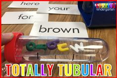 Totally Tubular Sight Words And A FREEBIE