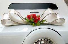 Картинки по запросу украшение на сваддебную машину из фатина органзы