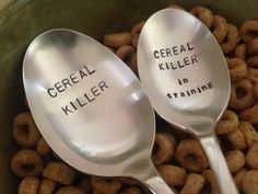 Cereal Killer and cereal killer in training :D