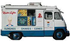 Mr. Softee Ice Cream Trucks.  Photobucket and countryfolkkeepsakes.blogspot.com