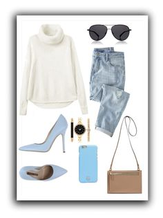 """""""Untitled #139"""" by elasianfashionbeauty on Polyvore featuring Wrap, Norma J.Baker, The Row, Tory Burch and Style & Co."""