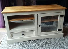 Corona upcycled painted furniture. Autentico linen paint.