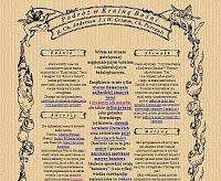 Podróż w Krainę Baśni. Strona o najpiękniejszym baśniach i najsławniejszych baśniopisarzach ( H. Ch. Andersen, J. i W. Grimm oraz Ch. Perrault). Znajdują się tu tłumaczenia baśni, zbiór baśniowych motywów i mnóstwo ciekawych zadań.