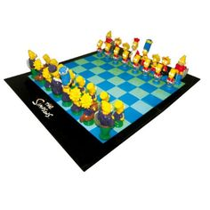 Simpsons Characters Chess Set - Only The Simpsons, 3d Chess, Simpsons Characters, I Love Games, Breaking Bad, Little People, Dc Comics, Geek Stuff, Marvel