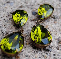 Duchess+Hourglass+Swarovski+Crystal+Dangle+Post+by+MASHUGANA,+$46.50