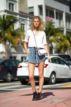 Best Street Style at Art Basel 2014 - Miami Street Style at Art Basel - Harper's BAZAAR