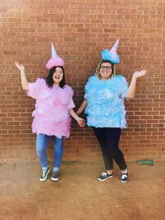 DIY cotton candy Halloween costumes Cotton Candy Halloween Costume, Halloween Food For Party, Diy Halloween Costumes, Adult Costumes, Costume Ideas, Kids Store Display, Candy Land Costumes, Homecoming Floats, Candy Dress
