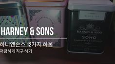 Harney&Sons 12가지 하울과 저렴하게 직구하는 법!