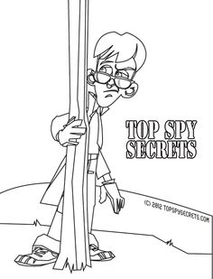 Pin by Top Spy Secrets on Spy Coloring Pages ft. Mister E
