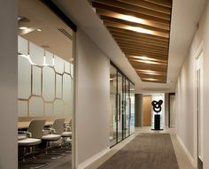 Boodle Hatfield office design #Corridor # Meeting rooms