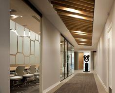 Boodle Hatfield office design #Corridor # Meeting rooms