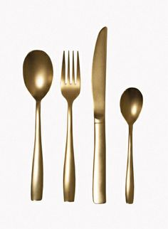 Seletti The midas cutlery gold | Why not golden cutlery!