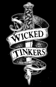 New tee shirt design for Wicked Tinkers