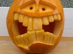 #Halloween #Kürbis der extra Klasse. Hilfreiche Tipps findet ihr auf www.1-2-do.com