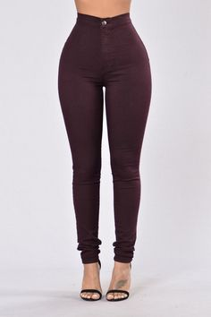 - Available in a variety of colors! - Super High Waisted - Round Pocket - Skinny Leg - Great Stretch - Made in USA - 68% Cotton 30% Polyester 2% Spandex