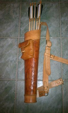Leather Quiver.