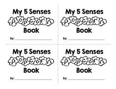 This freebie is a great addition to a five senses unit! To see how I used this with my first graders and for more popcorn freebies, click here: Popcorn Five Senses*Page 1 is the title page. *Page 2 contains mini book pages 1, 2, 3, &4.*Page 3 contains mini book page 5.For