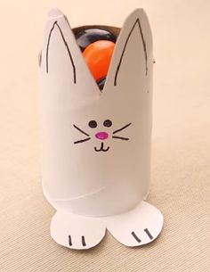 Easter Bunny DIY Candy Holder