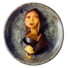 Mona Lisa / eggplant