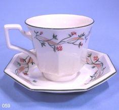 Johnson Bros Eternal Beau China Tea Cup and Saucer