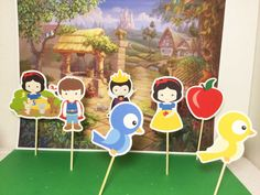Snow White Cupcake Topper Snow White Party By Happyparty777 Part 98