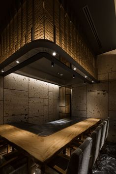 Doyle Collection have designed a new steak restaurant in the Ginza district of Tokyo, Japan