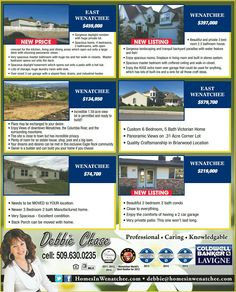 Call me today: ask about these homes and more!!