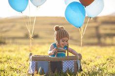 Ensaio Infantil   Daniel 6 meses   Balão   Caçapava - SP