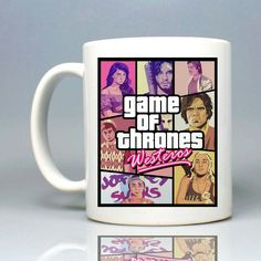 Game Of Thrones GTA Mug 11oz Ceramic