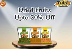 Provides The Most Healthy And Hygienic Nuts & Dry Fruits !!! #TulsiDriedFruits Available Only At Grocery Mantra #OnlineSuperMarket #OnlineGroceryShopping #TingTing #JaiHind #SaveWater