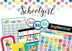Schoolgirl Style - Just Teach Rainbow Pack FULL COLLECTION {U PRINT}