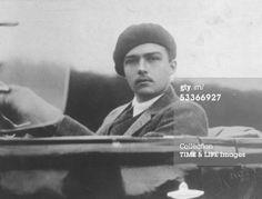 News Photo: Archduke Otto of Austria sitting in open car…