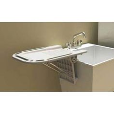 Utility Sinks With Drainboards : Madeira Wall Mount Faucet with Pot Filler by Strom Plumbing - Metal ...